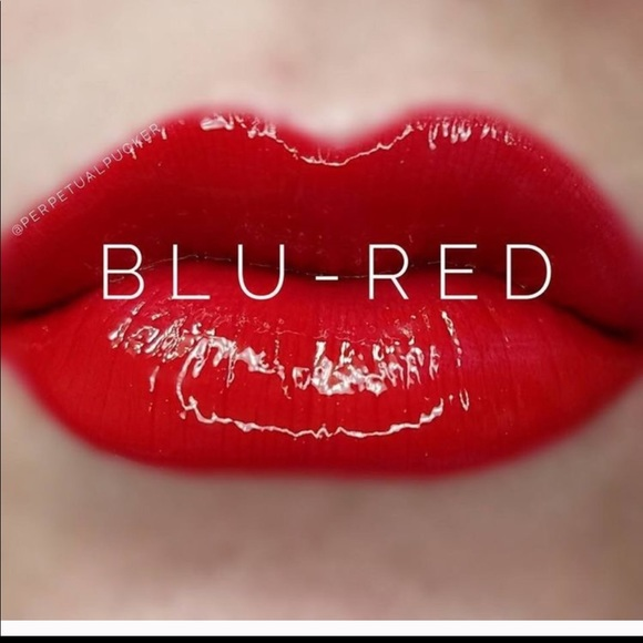 LipSense lipstick in blu red never opened